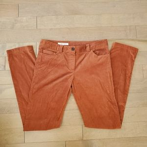 Rust orange Judith & Charles skinny pants